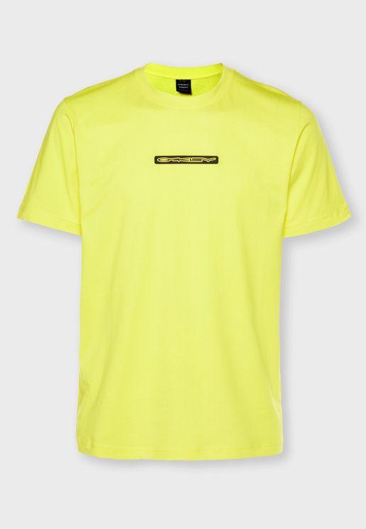 Stretch Logo Patch T-Shirt