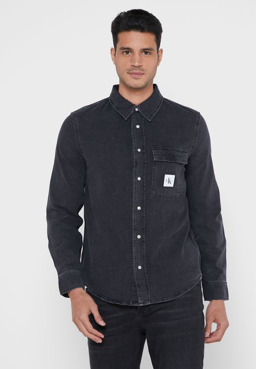 Skate Regular Fit Denim Shirt