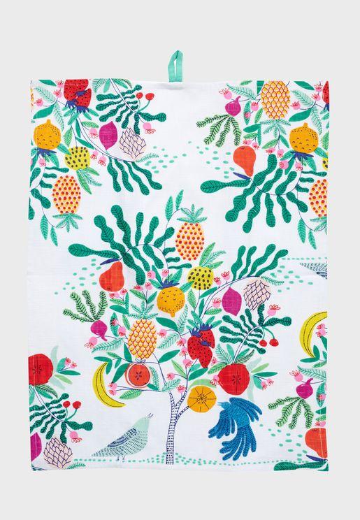 Fruit Tree Dish Towel