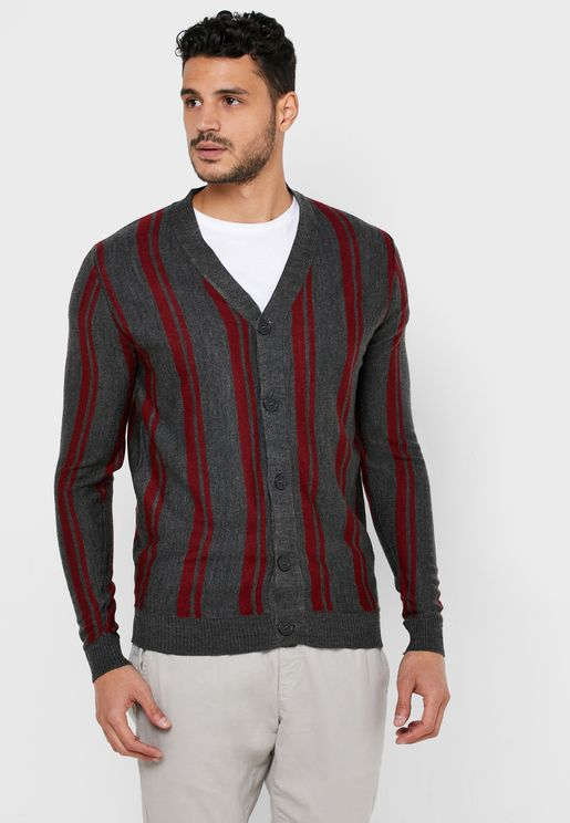 Magoun Striped Cardigan