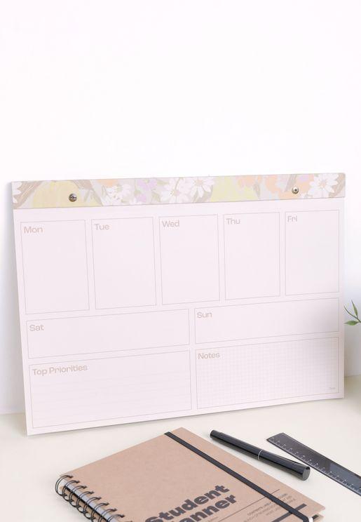 A3 Desk Planner