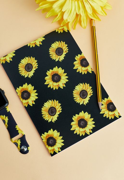 Sunflowers Notebook