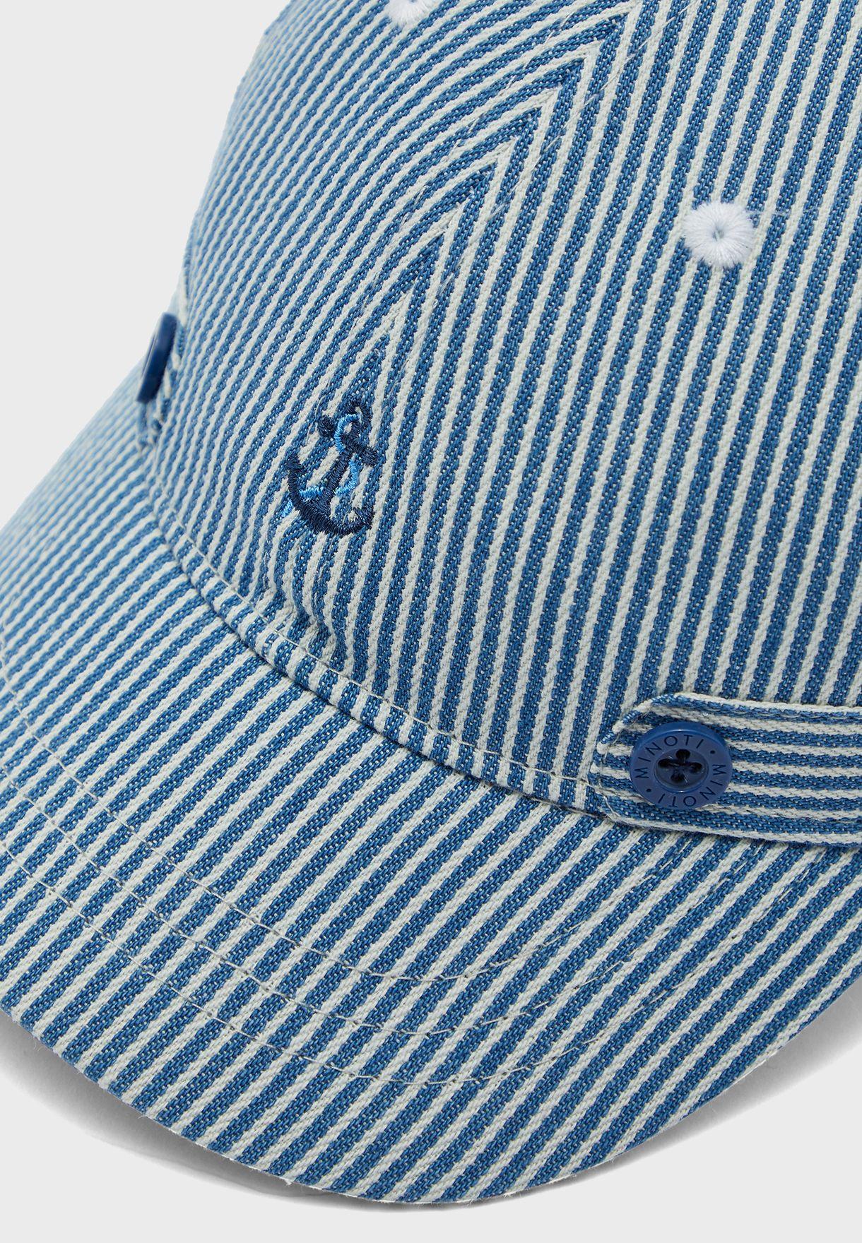 Kids Striped Cap