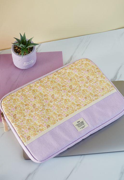 13' Suzi Floral Take Me Away Laptop Case