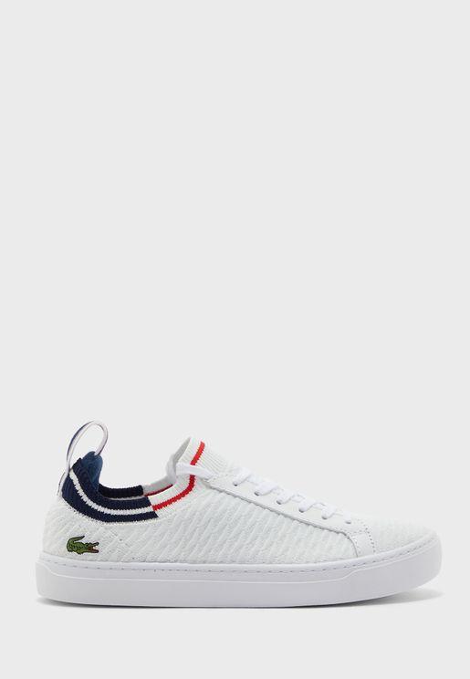 La Piquee Low Top Sneakers