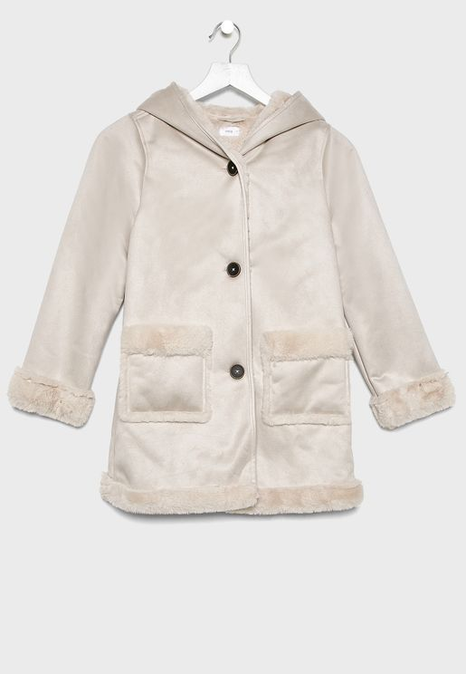 Kids Button Down Jacket