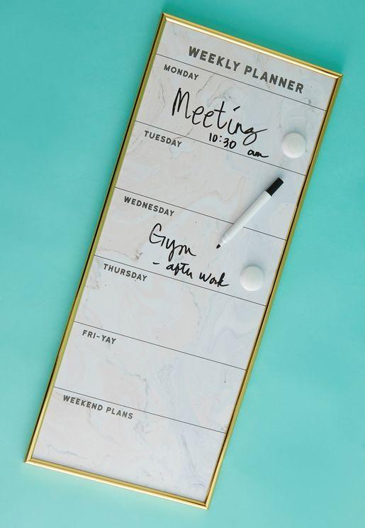 Marble Weekly Planner