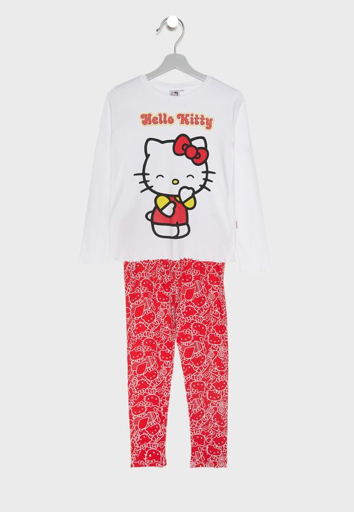 Little Hello Kitty Pyjama Set