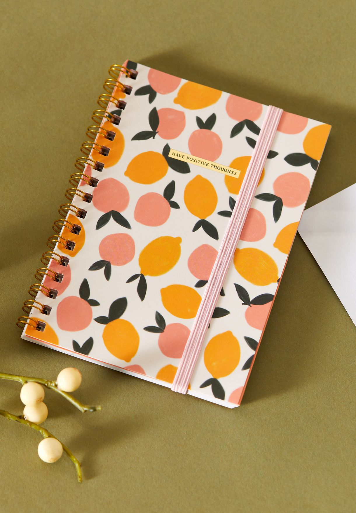 A6 Positive Thought Spinout Notebook