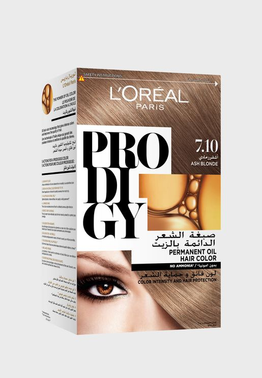 Prodigy Permanent Hair Color  Ash Blonde