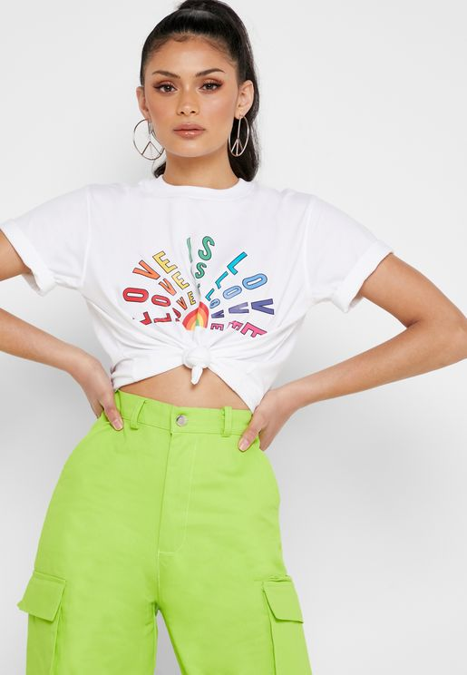 9ca69222912 Missguided T-shirts for Women | Online Shopping at Namshi Saudi