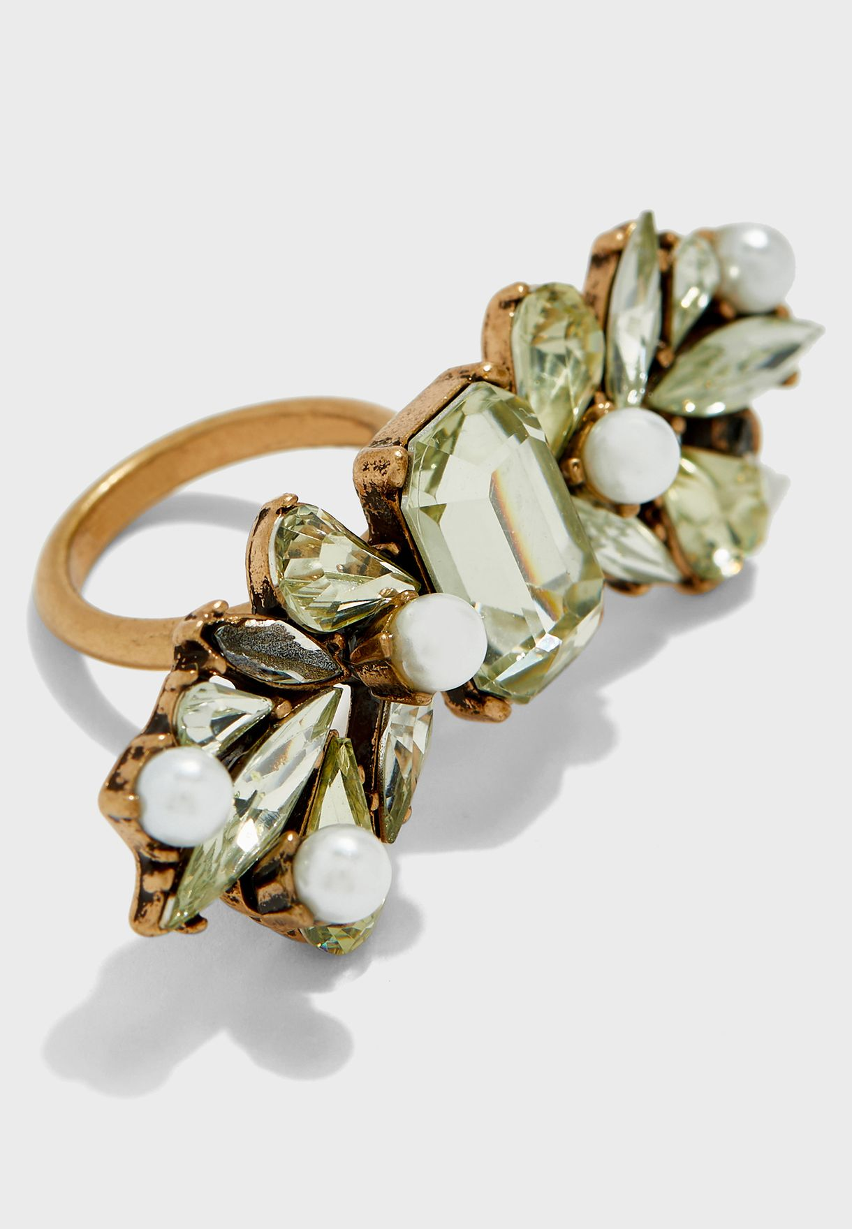 Wing Pearl Ring