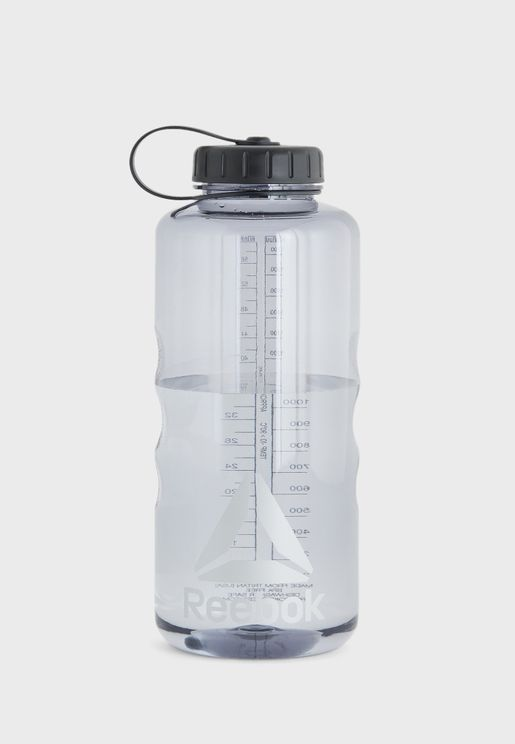 Logo Wide Mouth Water Bottle-1800ML
