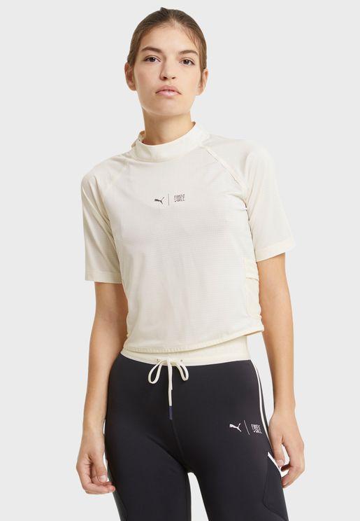 First Mile Mock Neck T-Shirt