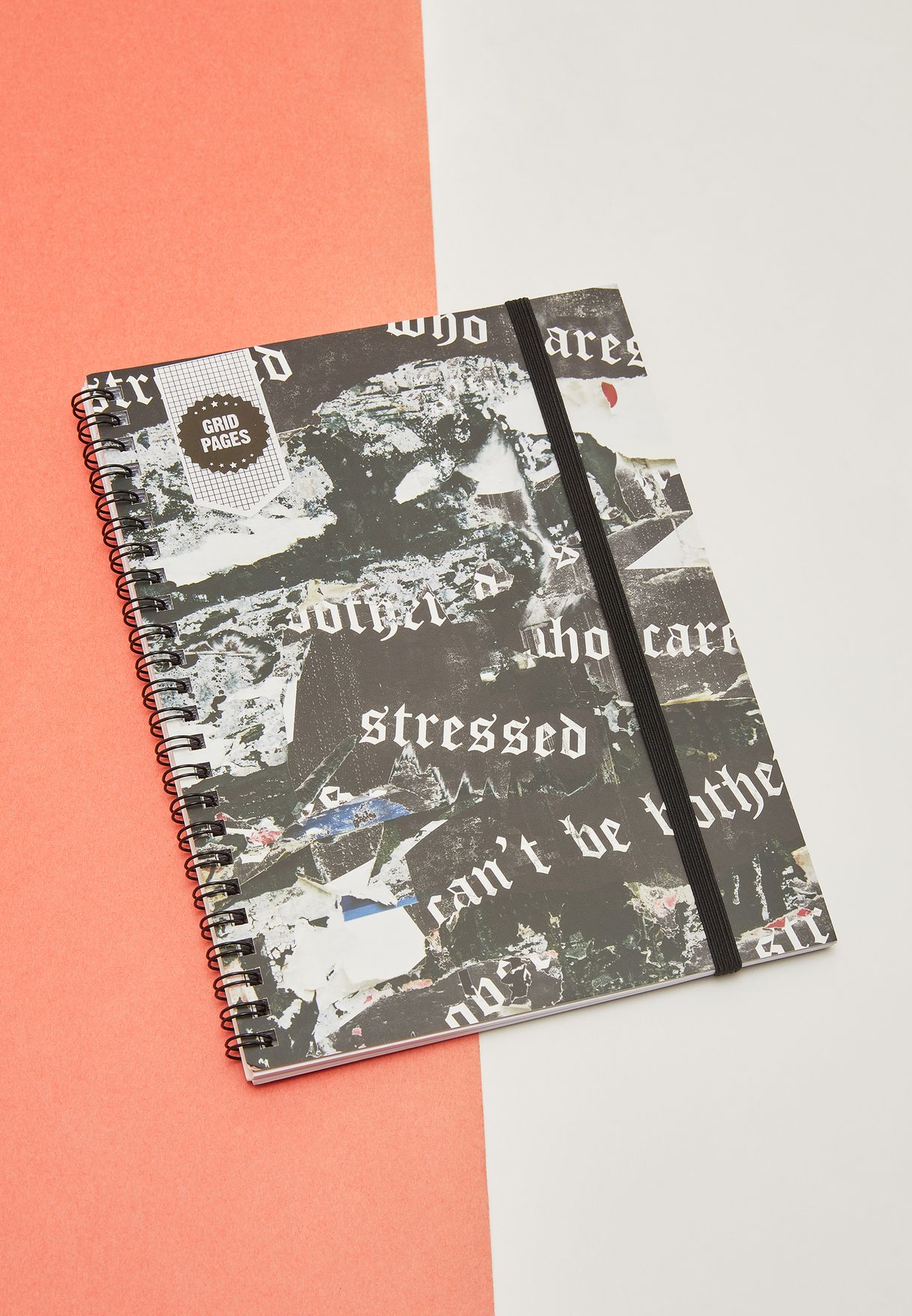 A5 Stressed Notebook