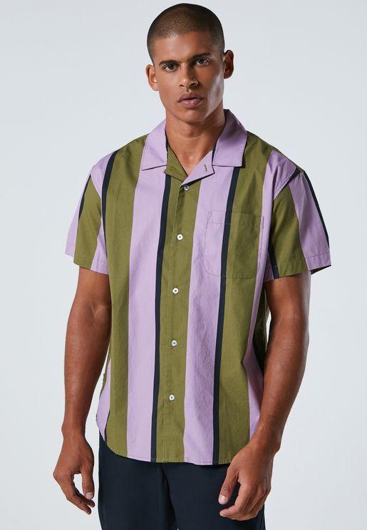 Shanty Striped Woven Shirt