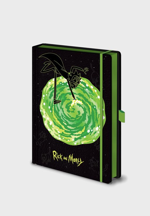Rick And Morty Portals Notebook
