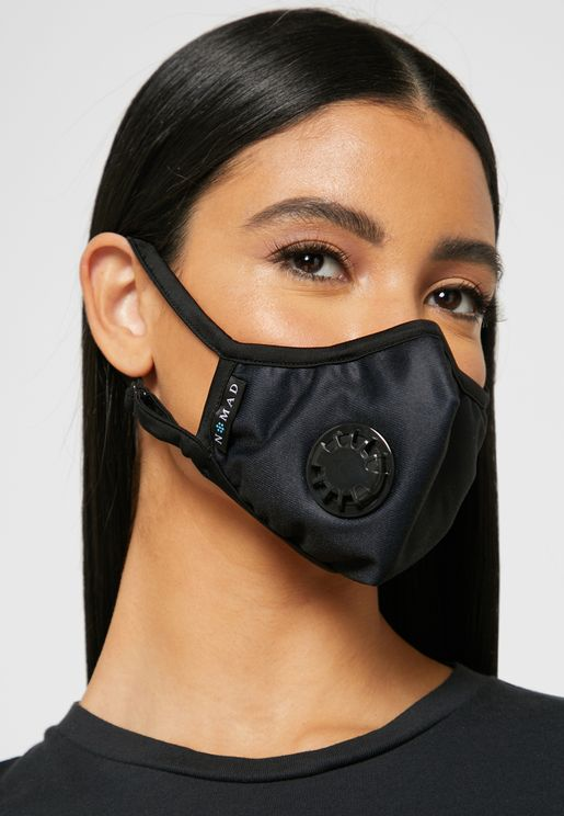 Activated Carbon Filter Mask With Vent