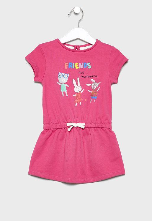 Infant Friends Dress