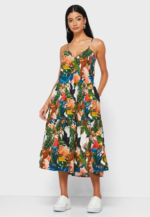 Farm Floral Dress