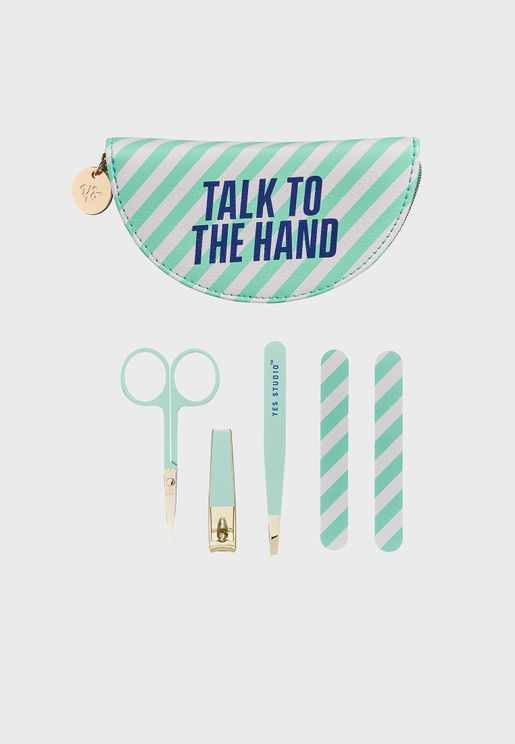 Manicure Set - Talk To The Hand