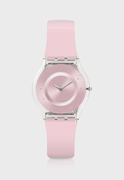 Pink Pastel Analog Watch
