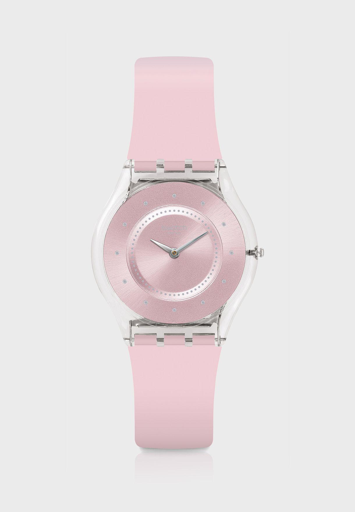 Pink Pastel Analog Watch