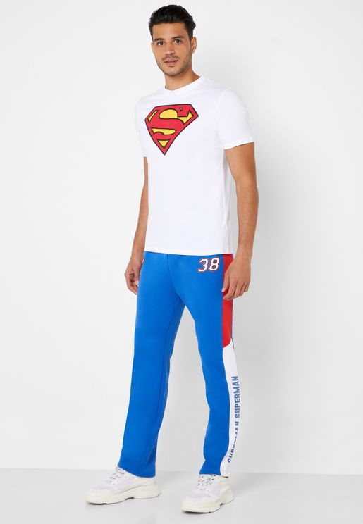 Superman Side Taped Sweatpants