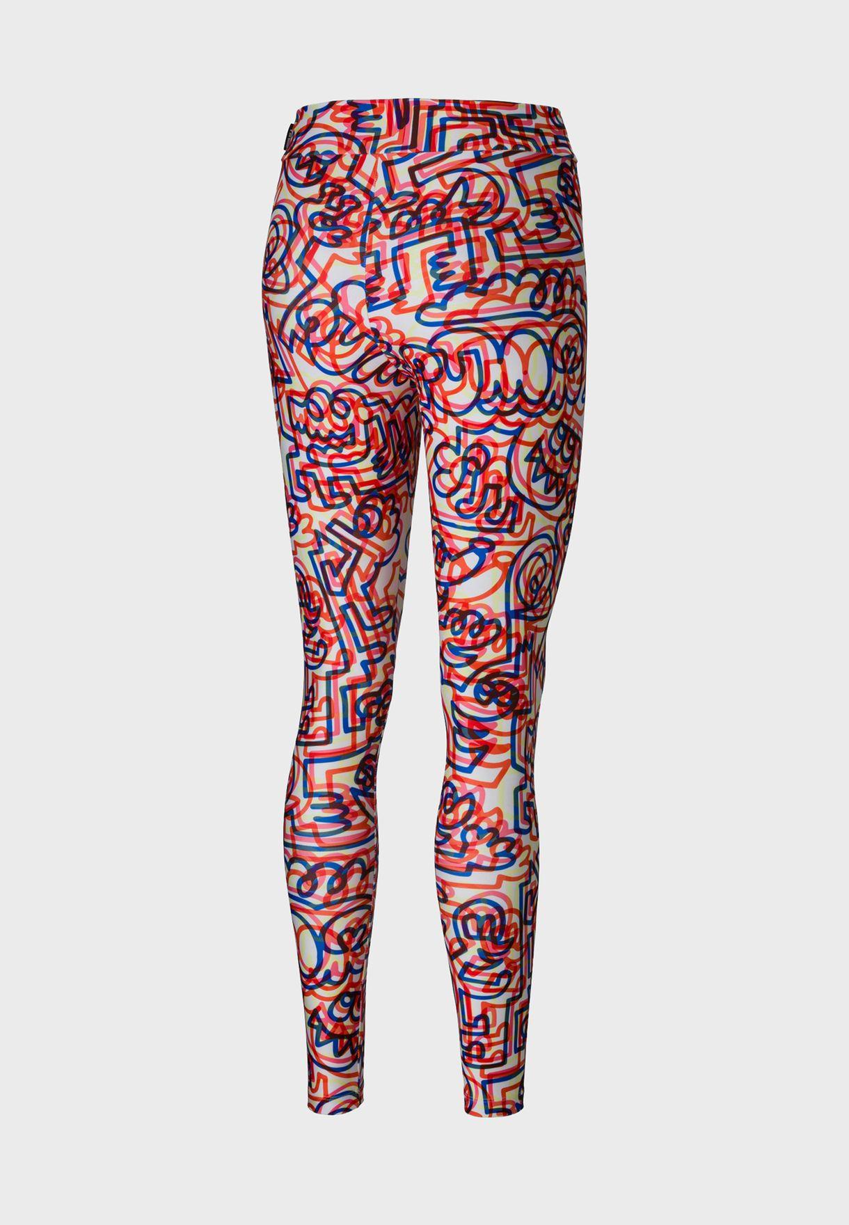 Mr. Doodle AOP Leggings