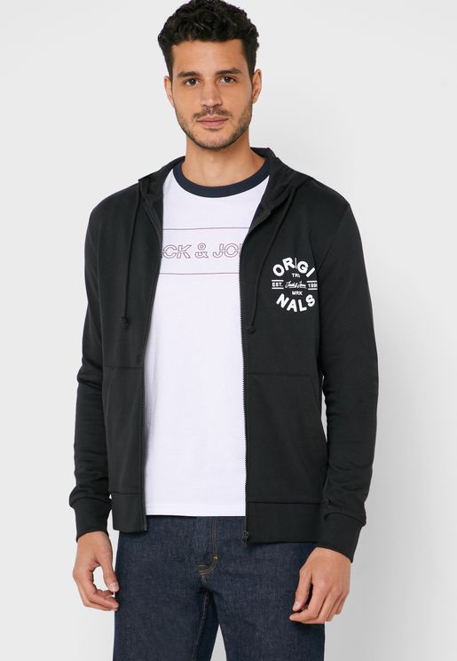 Tom Chest Logo Regular Fit Hoodie