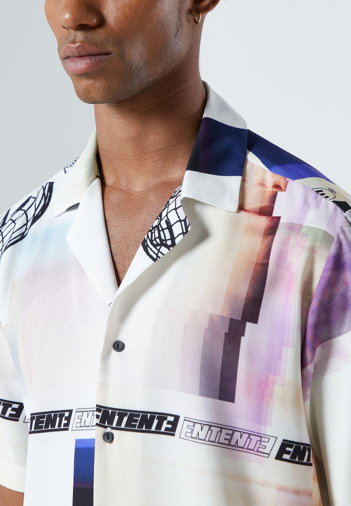 Piramid Printed Shirt