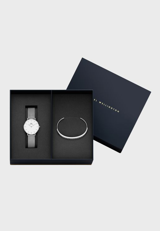 Gift Pack Classic Petite 32mm Sterling Watch + Cuf
