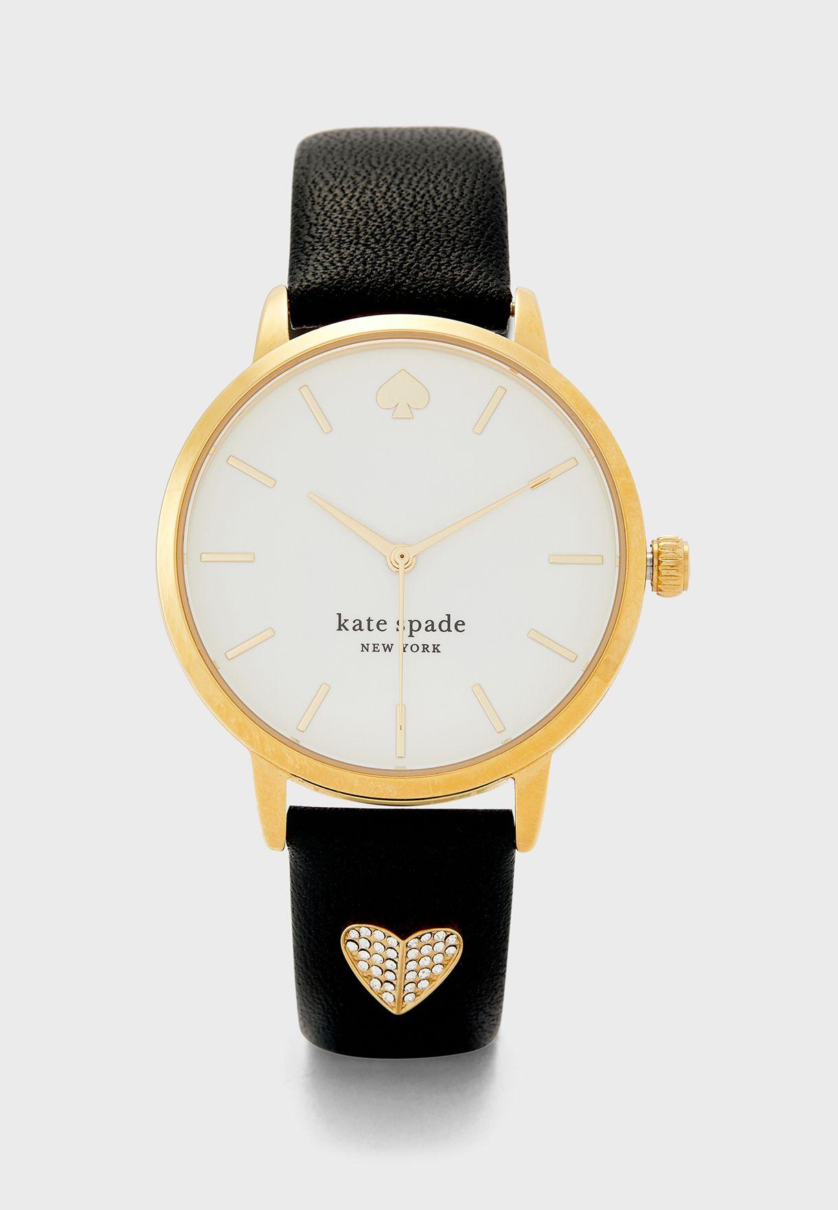 ساعة بحزام جلد اصلي Ksw1690