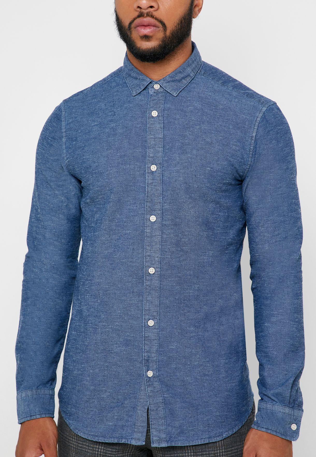 قميص شامبراي