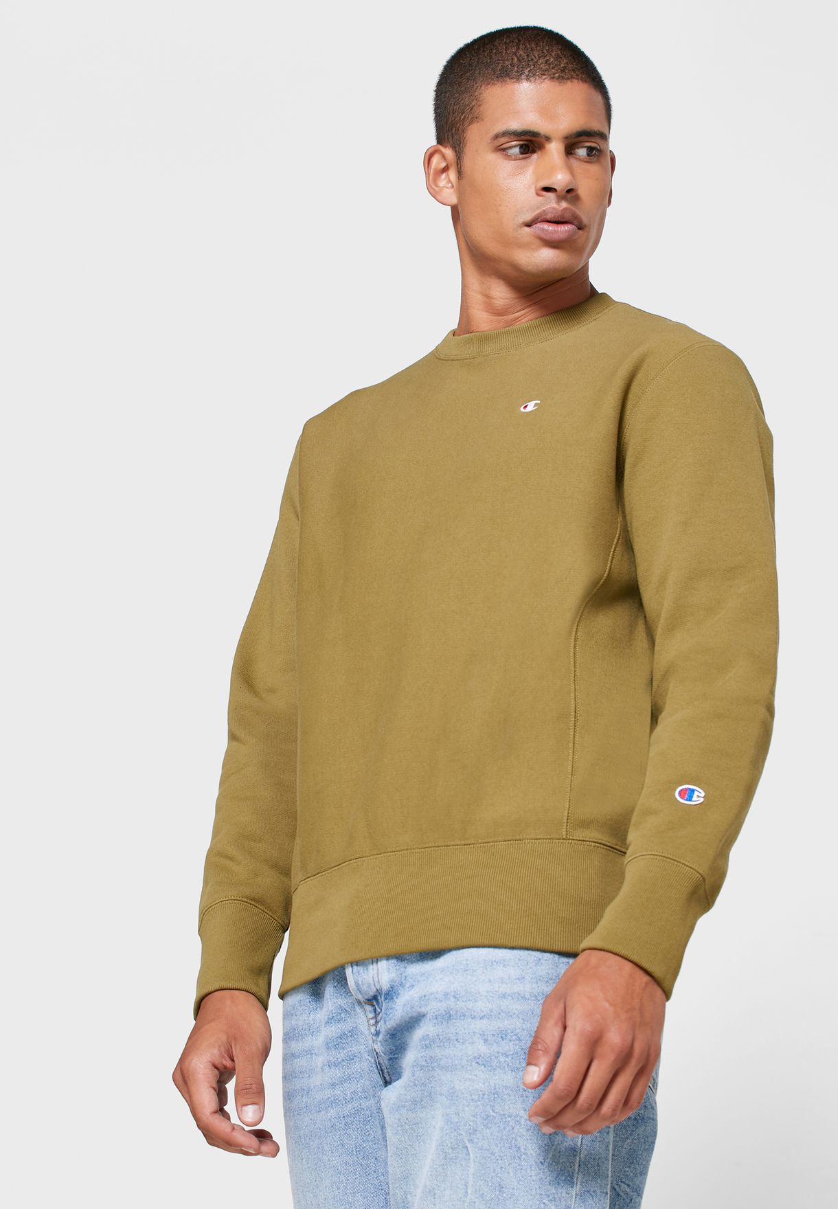 Reverse Weave Fleece Sweatshirt