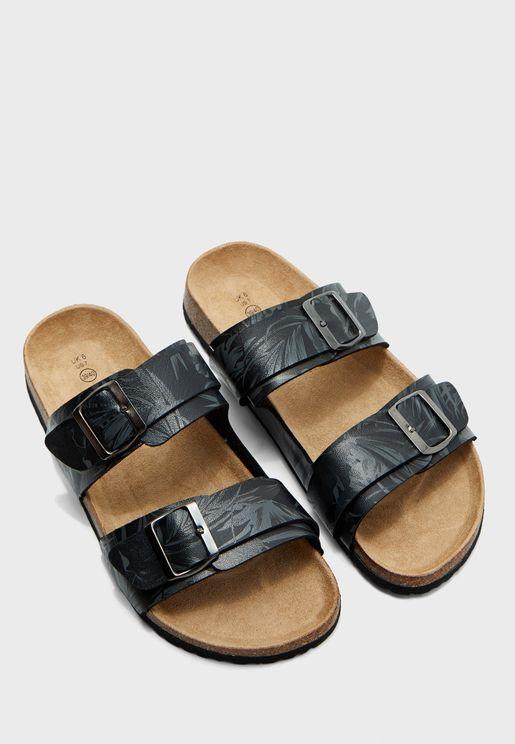 Anthony Floral Sandals