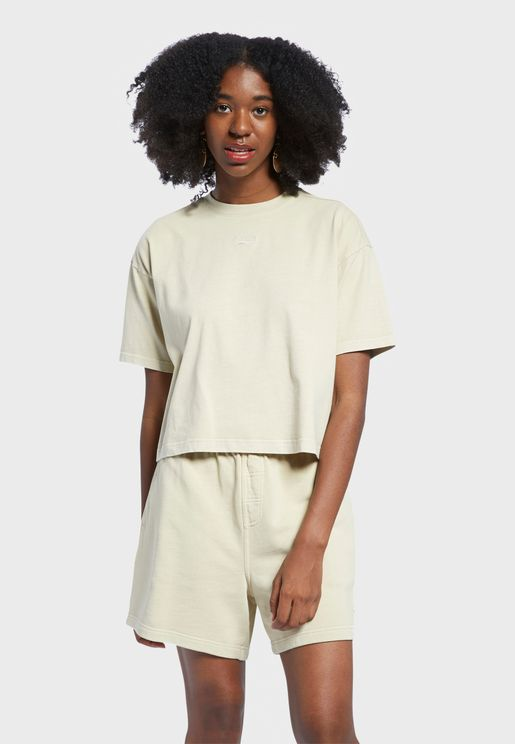 Classics Natural Dye Cropped T-Shirt