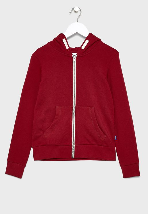 Teen Holmen Regular Fit Sweat Zip Hoodie