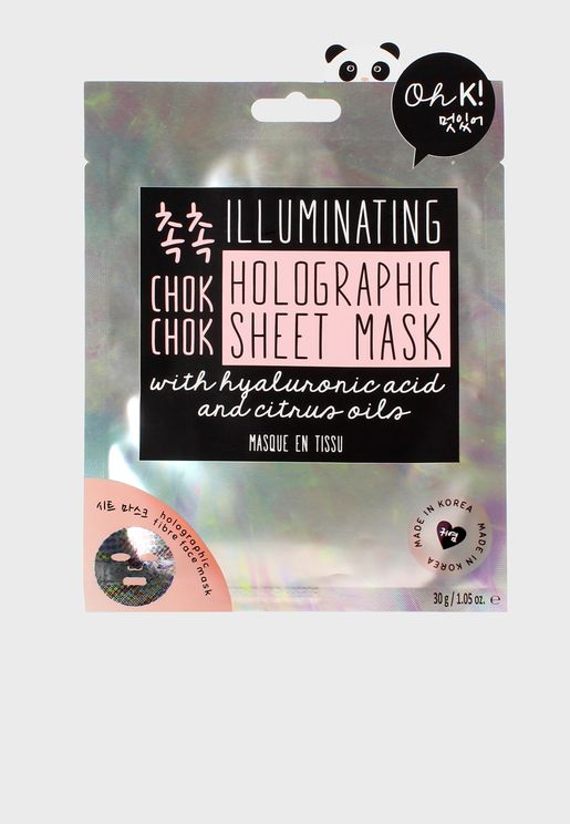 Chok Chok Holographic Face Mask