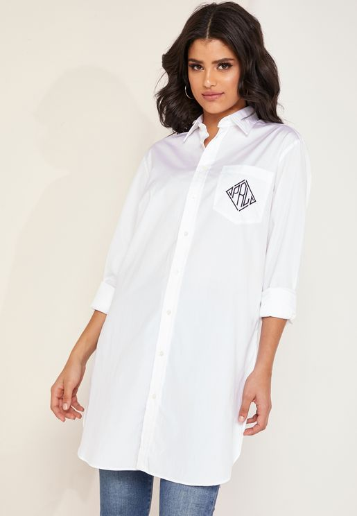Side Split Longline Shirt