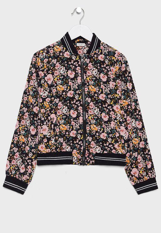 Kids Floral Jacket