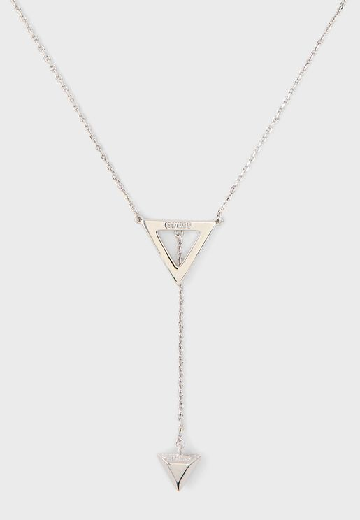 Slide Triangles Necklace