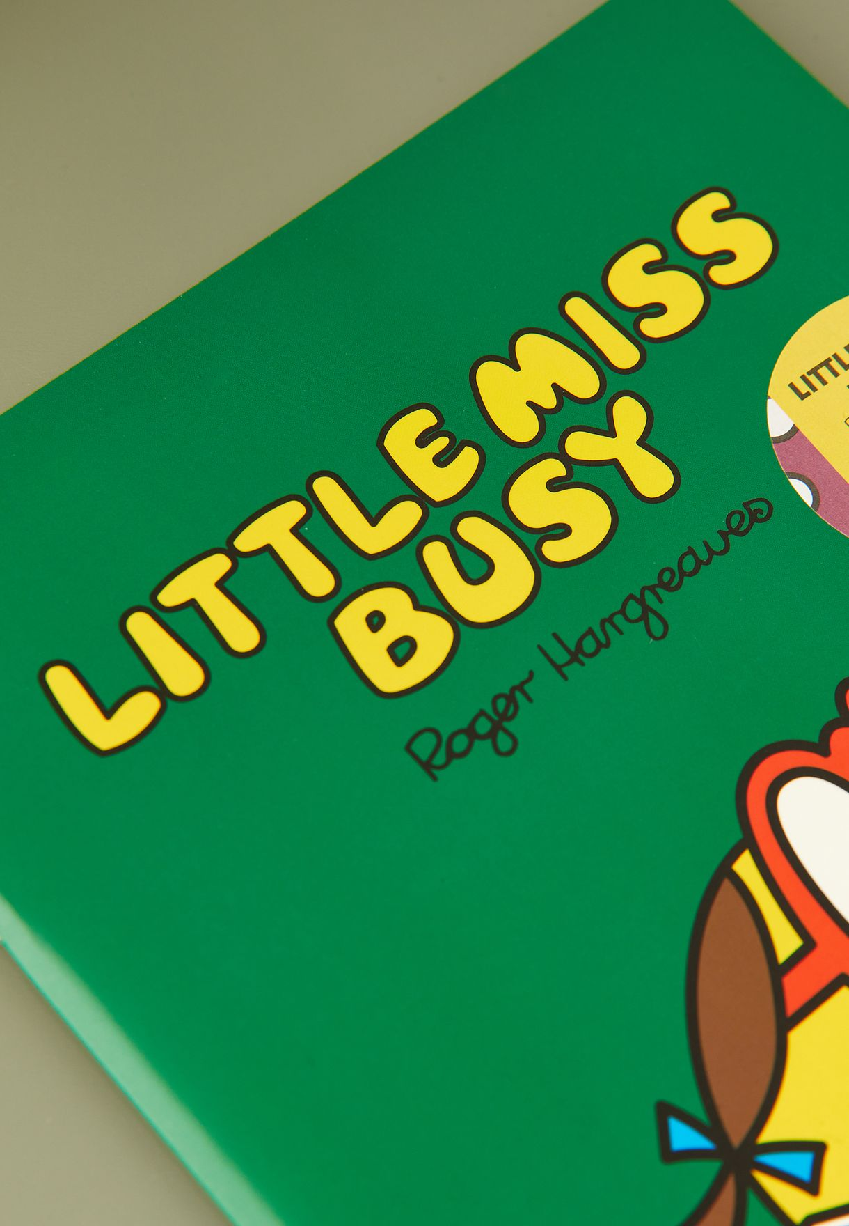 Little Miss Busy Notebook