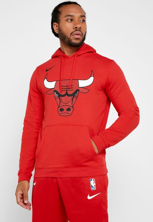 Chicago Bulls Club Fleece Hoodie