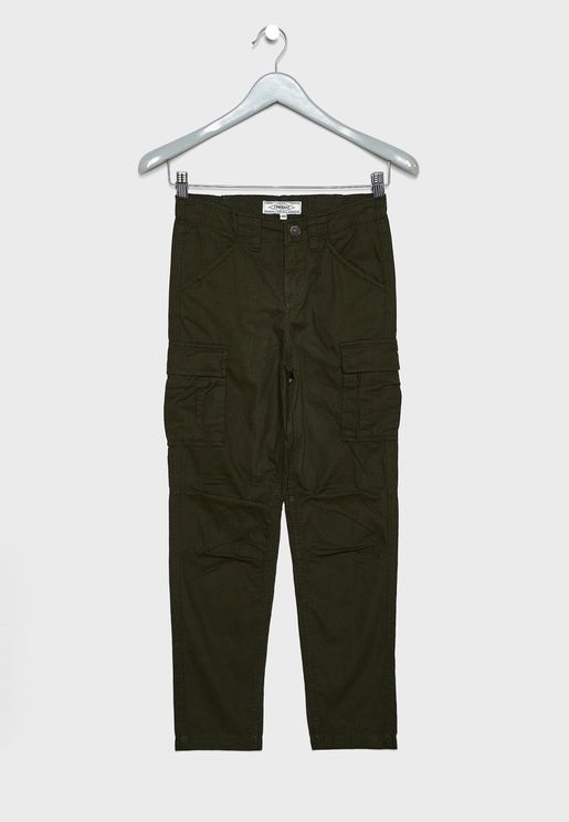 Teen Canvas Trouser