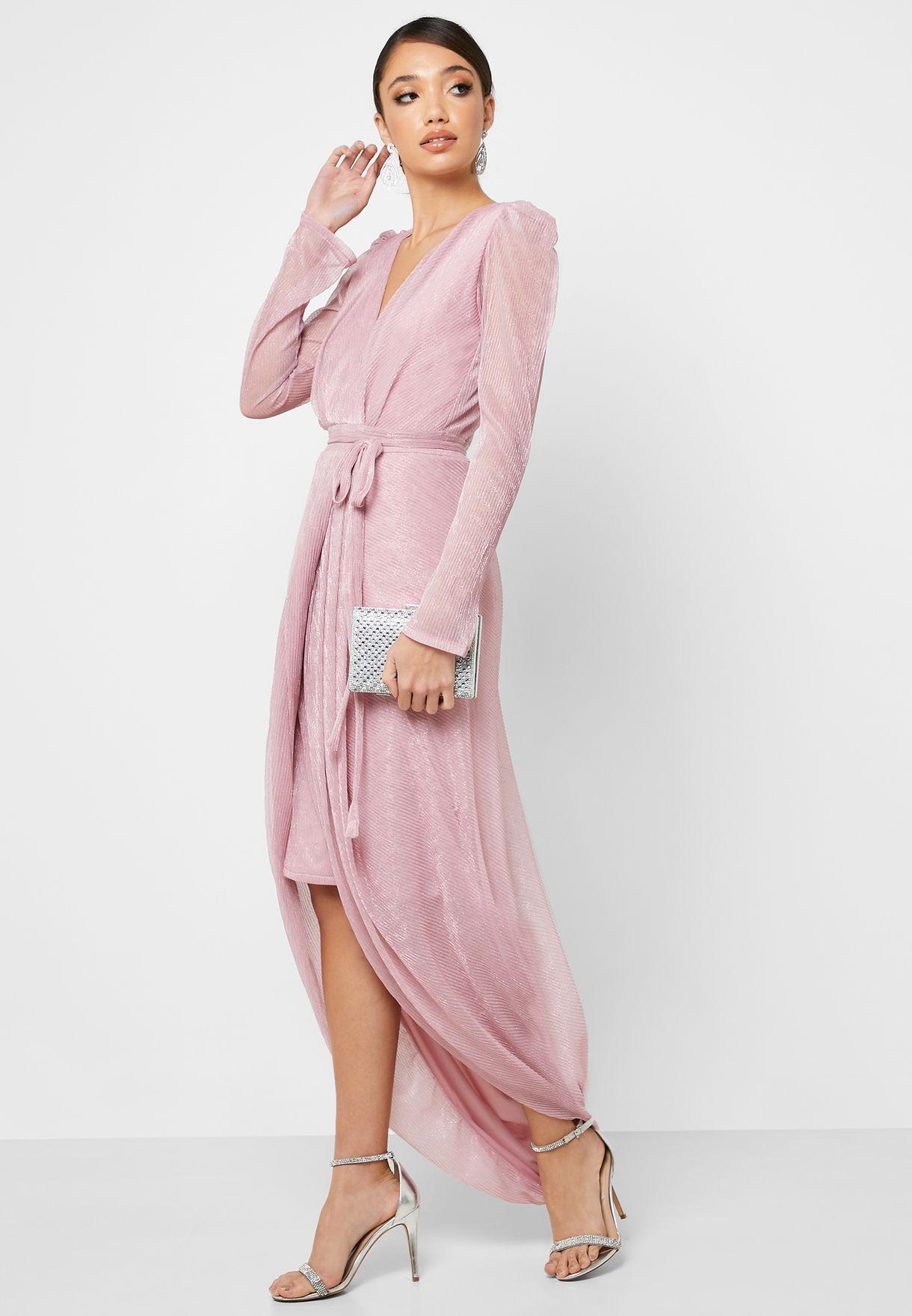 فستان بليسيه ماكسي لف