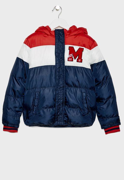 Kids L-Initial Jacket