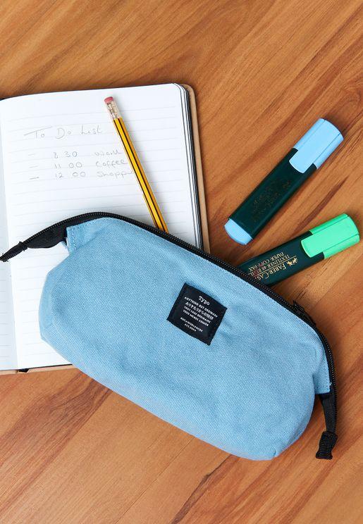 Blue Billie Pencil Case