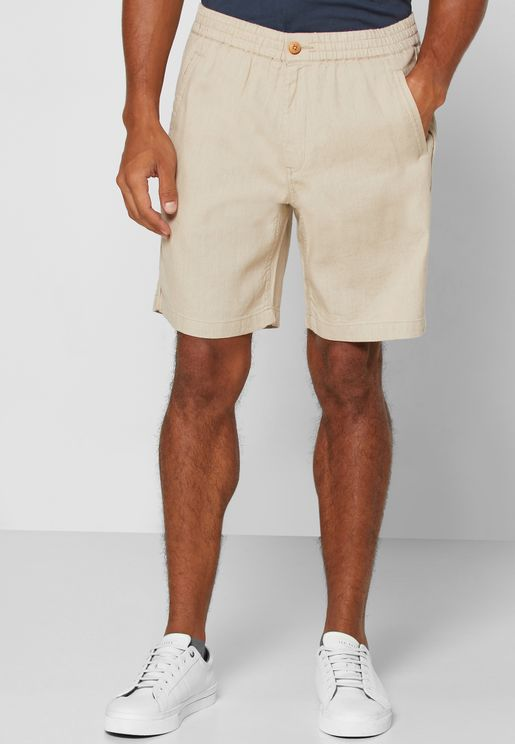 Essential Elastic Waist Shorts