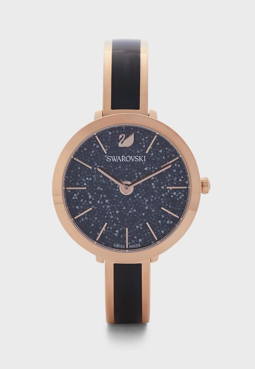 Crystalline Analog Watch